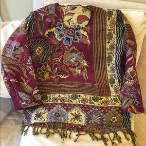 Tops - NWOT Boho Knit Women's Blouse/ Top Unique Fashion